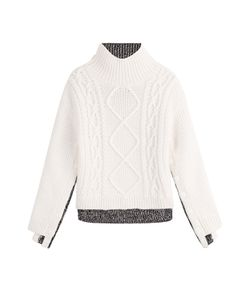 Rag & Bone | Two Tone Turtleneck Pullover Gr. S