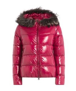 Duvetica | Quilted Down Jacket With Fur-Trimmed Hood Gr. It 38