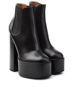 Laurence Dacade | Plateau Boots Aus Leder Gr. It 36