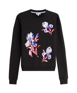 Kenzo | Embellished And Embroidered Cotton Pullover Gr. M