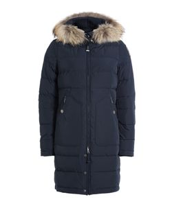 Parajumpers | Light Long Bear Down Parka With Fur-Trimmed Hood Gr. S
