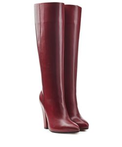 Sonia Rykiel | Leather Knee Boots Gr. Eu 36