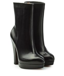 Sonia Rykiel | Leather Boots With Platform Gr. Eu 36