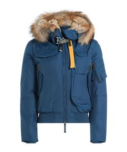 Parajumpers | Gobi Down Bomber Jacket With Fur Trimmed Hood Gr. S