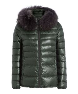 Duvetica | Down Jacket With Fur-Trimmed Hood Gr. It 38
