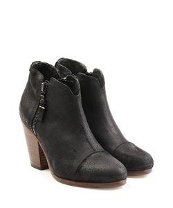 Rag & Bone | Waxed Suede Ankle Boots Gr. It 38
