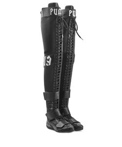 Fenty x Puma by Rihanna | Over-The-Knee Boots With Lace-Up Front Gr. Uk 7