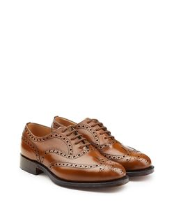 Churchs | Leather Brogue Lace-Ups Gr. Uk 10