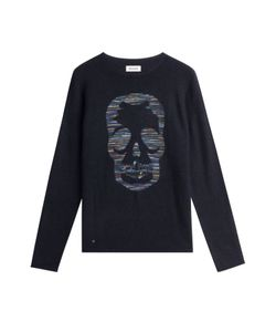 Zadig & Voltaire | Printed Cashmere Pullover Gr. S