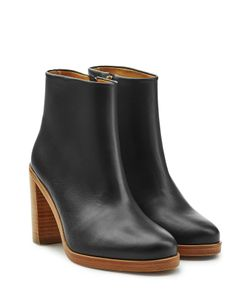A.P.C. | Leather Ankle Boots Gr. Eu 41