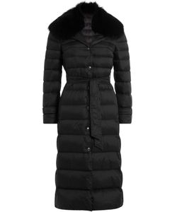 Red Valentino | Down Coat With Fur-Trimmed Collar Gr. It 38