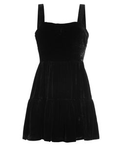 Mcq Alexander Mcqueen | Velvet Mini Dress With Silk Gr. It 38