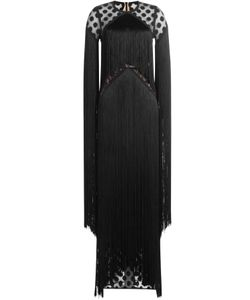 Elie Saab | Fringed Floor-Length Dress Gr. Fr 38