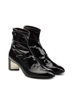 Pierre Hardy   Patent Leather Ankle Boots Gr. Fr 385