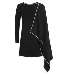Mcq Alexander Mcqueen | Dress With Embellished Cape Detail Gr. It 38