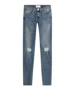 Frame Denim | Distressed Jeans De Jeanne Skinny Jeans Gr. 24