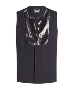 BOUTIQUE MOSCHINO | Sleeveless Shell With Sequins Gr. It 44