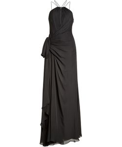 Roberto Cavalli | Silk Chiffon Floor Length Gown Gr. It 38
