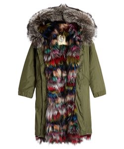 As65   Parka With Fox Fur Lining Gr. S