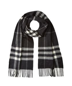 Burberry | Checked Cashmere Scarf Gr. One