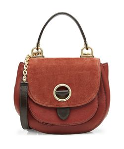 Michael Michael Kors | Suede Shoulder Bag With Leather Gr. One