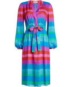 Etro | Striped Silk Dress Gr. It 40