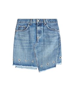 Rag & Bone | Denim Skirt With Eyelets Gr. 30