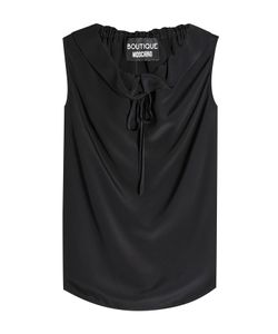 BOUTIQUE MOSCHINO   Sleeveless Blouse With Silk Gr. It 40