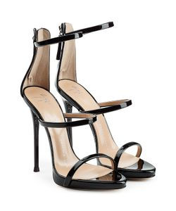 Giuseppe Zanotti Design | Patent Leather Stiletto Sandals Gr. It 40