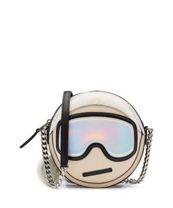 Karl Lagerfeld | Leather Shoulder Bag Gr. One