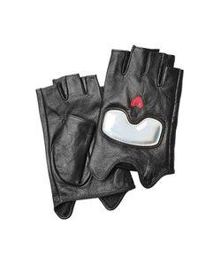 Karl Lagerfeld   Fingerless Leather Gloves Gr. S/M