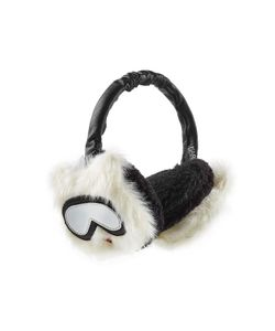 Karl Lagerfeld | Ear Muffs With Leather Gr. One
