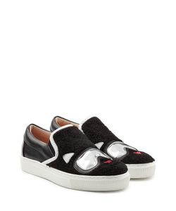 Karl Lagerfeld | Slip-On Sneakers With Leather Gr. Eu 36