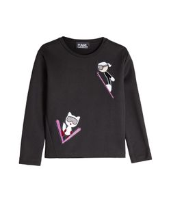 Karl Lagerfeld | Sweatshirt With Patches Gr. M
