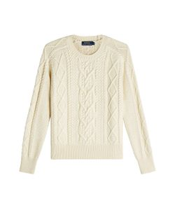 Polo Ralph Lauren | Cable Knit Cotton Pullover Gr. S