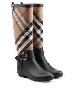 Burberry | Rain Boots With Printed Fabric Gr. Eu 38