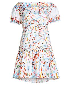 Peter Pilotto | Printed Cotton Dress Gr. Uk 8