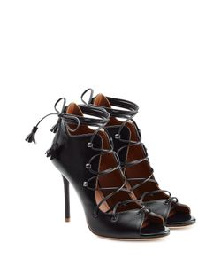 MALONE SOULIERS | Lace-Up Leather Sandals Gr. Eu 36