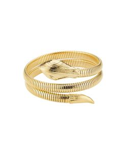 GAS BIJOUX | Serpent 24kt Plated Bracelet Gr. One