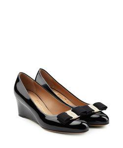 Salvatore Ferragamo   Patent Leather Wedges Gr. Us 11