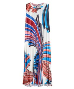 Emilio Pucci | Printed Dress With Pleats Gr. It 38