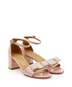 Salvatore Ferragamo   Patent Leather Sandals Gr. Us 85