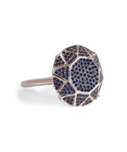 Ileana Makri | Sapphire Gem Single Solitaire Ring Gr. 53