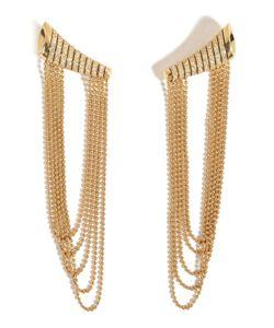 Nikos Koulis | 18kt Star Earrings With Diamonds Gr. One