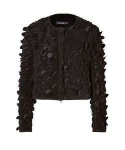 Marios Schwab | Suede Jacket With Cutout Detailing Gr. Uk 8