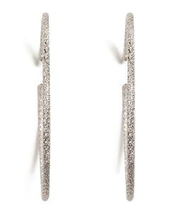 Carolina Bucci | 18k Medium Sparkly Hoop Earrings Gr. One