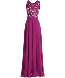 Jenny Packham | Embellished Silk Evening Gown Gr. Uk 12