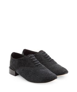 Repetto | Zizi Textured Leather Lace-Ups Gr. Fr 40