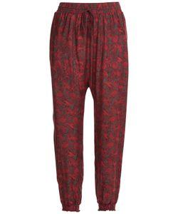 Anna Sui | Printed Harem Pants Gr. L