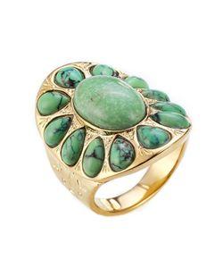 Aurelie Bidermann   -Plated Ring Gr. 54